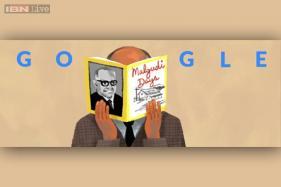 Google doodles 'Malgudi Days' on RK Narayan's 108th birth anniversary