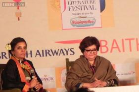 Jaipur Literature Festival 2015: Shabana Azmi and Salima Hashmi remember their famous fathers Kaizi Azmi and Faiz Ahmed Faiz