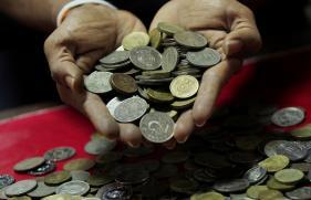 Rupee Gains 5 Paise Against Dollar at 63.82