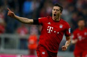 Lewandowski Nets Hat-Trick As Bayern Munich Thump Hamburg 8-0