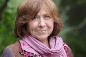 Belarusian author Svetlana Alexievich wins the 2015 Nobel Prize in Literature