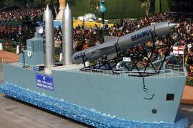 Navy Successfully Test-Fires Brahmos Land Attack Missile