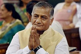Need to Have Dialogue With People of Kashmir: VK Singh