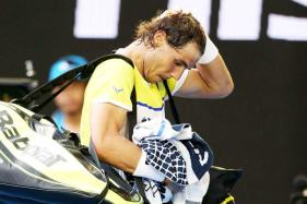 Rafael Nadal Pulls Out of Paris Masters With Knee Injury