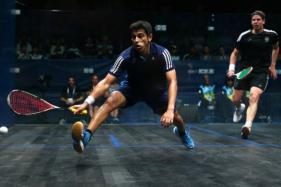 Saurav Ghosal's Run Ends in World Squash Championship