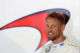 Former F1 World Champion Jenson Button Test Drives Airbus A380 Simulator