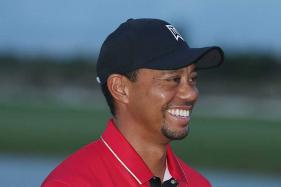 Tiger Woods Back to Swinging Driver as Rehab Continues