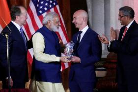 Amazon's Jeff Bezos 'Excited to Keep Investing' in India After Modi Meet