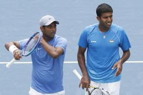 Paes, Bopanna Seal Davis Cup Play-Off Place With Easy Win