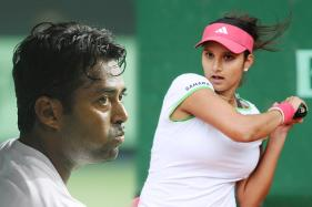 Sania vs Paes in French Open Mixed Doubles Final
