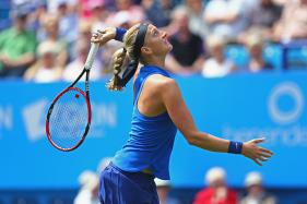 Petra Kvitova Tops Eugenie Bouchard in Connecticut Open