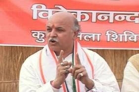 ​Teary-Eyed Togadia Alleges Encounter Conspiracy, Congress Demands Inquiry