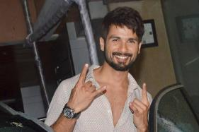 Shahid Kapoor Creates Makeshift Gym to Stay Fit for Padmavati Role