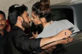 Ranveer Singh, Deepika Padukone Join Irrfan Khan For 'Madaari' Screening