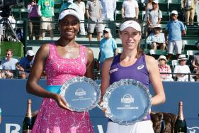 Johanna Konta Topples Venus Williams for First WTA Title