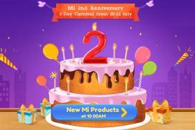Xiaomi 2nd Anniversary Sale: Get Heavy Discounts on Mi Phones