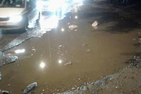 Vasant Kunj Biker Gets Crushed Under Truck After Bike Slips In Pothole
