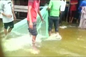 Watch: Toxic Foam Billows From Bellandure Lake