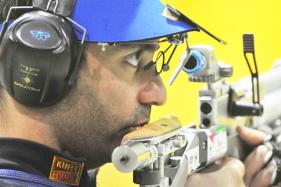 Shooter Abhinav Bindra Arrives in Rio