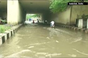 Watch: Delhi, Gurugram Continue to Witness Rains, Traffic Snarls