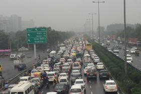 Day 2: Gurgaon Still Waterlogged, Police Ask People to Stay Off Roads