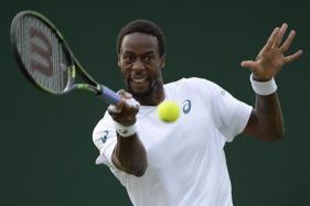 Gael Monfils Cruises Into Second Round in Toronto
