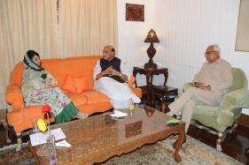 Congress Boycotts Rajnath's Meet On Kashmir Unrest