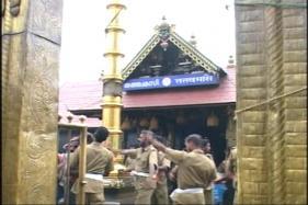 Newly Installed Golden Mast at Sabarimala Damaged, 5 Detained