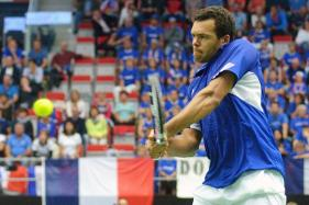 Jo-Wilfried Tsonga Leads France Into Davis Cup Semi-Finals