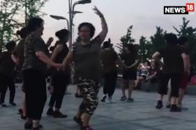 Chinese Women Dance To A Popular Bollywood Song To Stay Fit