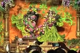 Watch: Lakhs of Devotees Throng Vrindavan To Celebrate Janmashtami