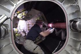 US Astronauts Conduct Seven-Hour Spacewalk Outside ISS