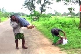 Odisha: Tribal Man Walks 10 Km Carrying Wife's Body