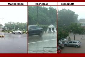 Live: Rain, Thunderstorm in Delhi-NCR; Flights Delayed; Police Advise 'Patience'