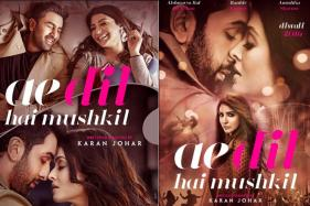 First Posters of Ae Dil Hai Mushkil Starring Ranbir, Aishwarya, Anushka Are Out