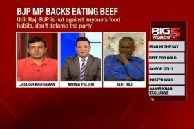 Is Udit Raj Suggesting That Vegetarians Can't be Winners?