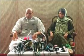 Take Concrete Steps to Control Law and Order in Kashmir: Rajnath to Mufti
