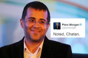 Chetan Bhagat and Piers Morgan Had a Twitter Spat and it was Hilarious