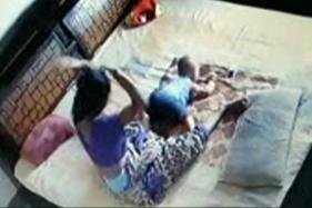 Caught on Camera: Mother Brutally Beats Toddler Son in Bareilly