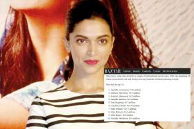 Fashion Magazine Misspells Deepika Padukone's Name, Twitter Trolls Them Mercilessly