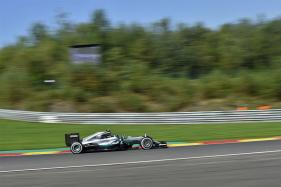 Mercedes' Nico Rosberg On Top in Opening Belgian GP Practice