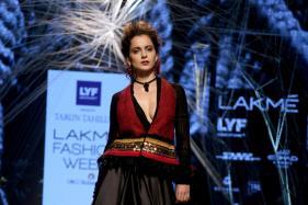 LFW 2016, Day 1: Kangana Ranaut Turns Muse For Tarun Tahiliani