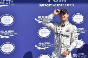 Mercedes' Nico Rosberg Takes Pole For Belgian Grand Prix