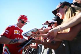 Ferrari's Kimi Raikkonen Fastest in Final Belgian GP Practice