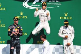 Mercedes' Nico Rosberg Eases to Belgian GP Win, Lewis Hamilton Third