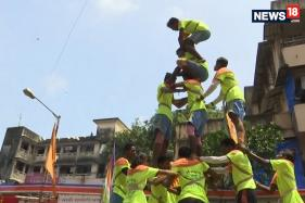 Mumbai Celebrates Dahi Handi on Janmashtami