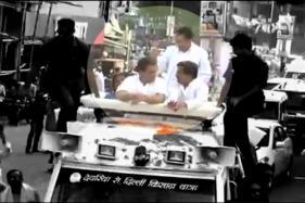 Shoe Hurled at Rahul Gandhi in UP; He Blames BJP, RSS