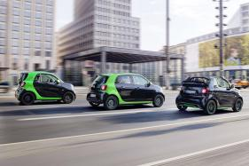 Three New Models From Daimler's Smart EV Range to Debut at Paris Motor Show