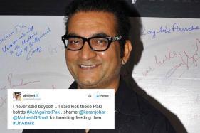 Abhijeet Now Targets Karan Johar, Mahesh Bhatt for 'Breeding' Pak Actors