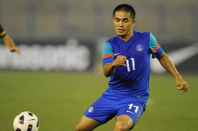 Chhetri Strike in Running for 2017 AFC Cup Goal of Tournament
